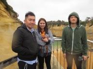 with Reza & wife